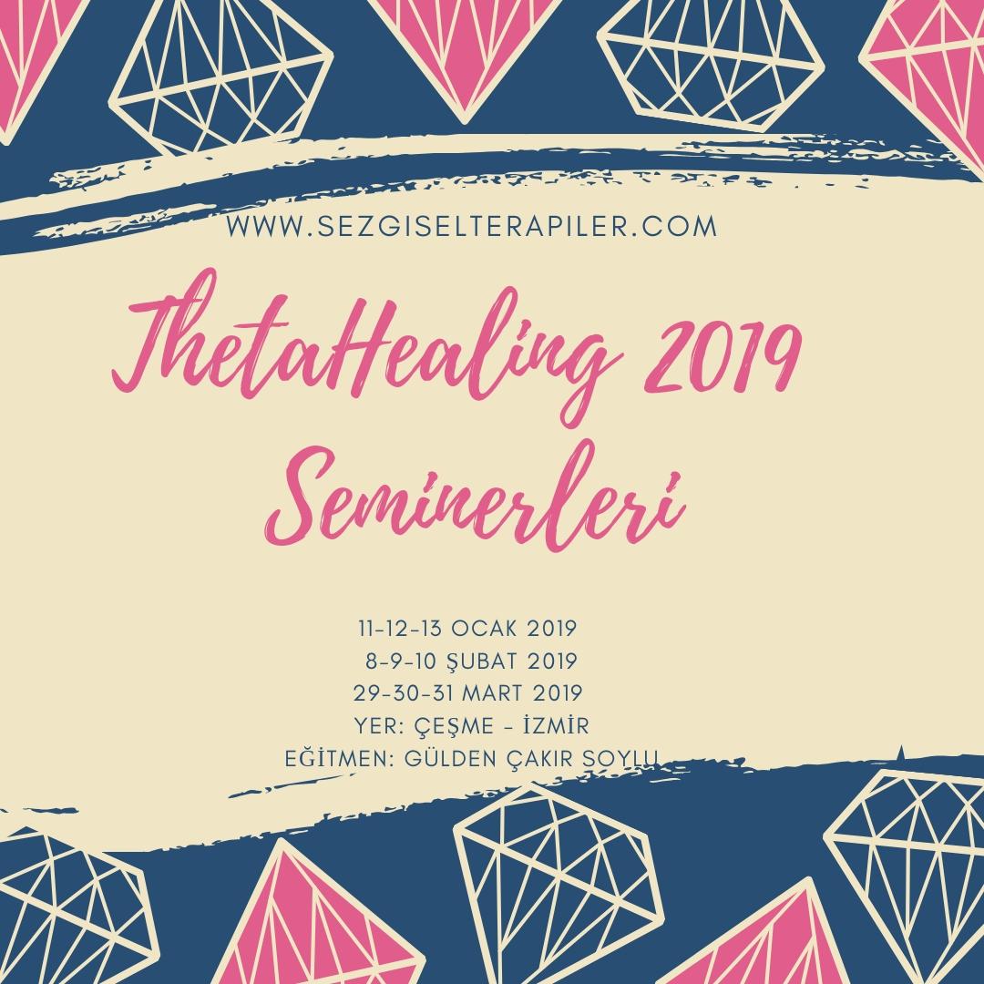 thetahealing 2019 seminerleri