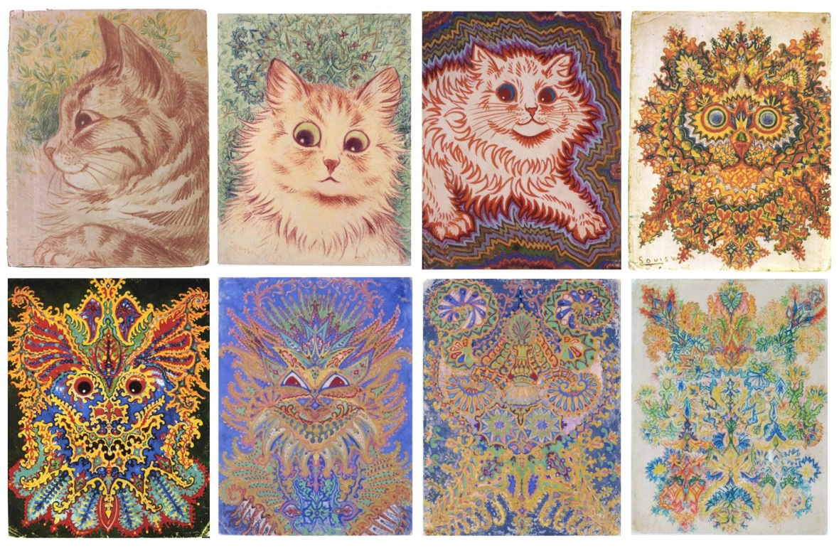 Progression_Louis_Wain_IllustrationChronicles_1500