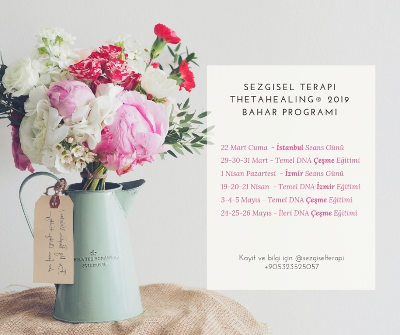 SEZGISEL TERAPI THETAHEALING®